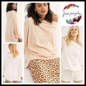 FREE PEOPLE BOHO TUNIC TOP PULLOVER  A2C